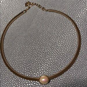 Vintage Christian Dior Omega Style Necklace